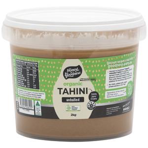 Organic Unhulled Tahini 2KG