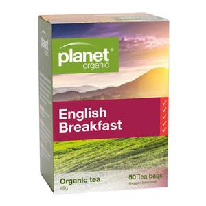 Organic English Breakfast Tea Bags x 50