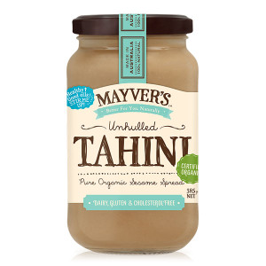 Mayver's Organic Unhulled Tahini 385g