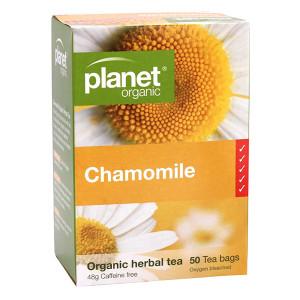 Organic Chamomile Tea Bags x 50