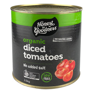 Honest to Goodness Organic Diced Tomatoes