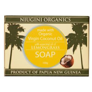 Organics Lemongrass Coconut Soap 100g