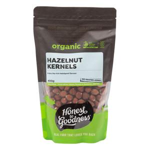 Organic Hazelnuts 400g