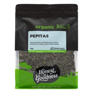 Organic Pepitas 1KG