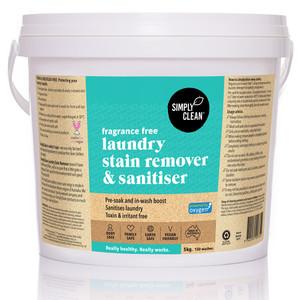 Fragrance Free Stain Remover & Sanitiser 5KG