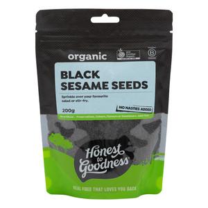 Organic Black Sesame Seeds 200g