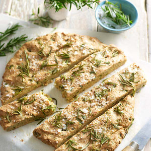 Olive and Rosemary Flatbread