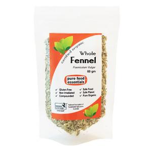Organic Whole Fennel 60g
