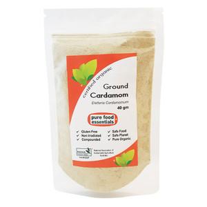 Organic Ground Cardamom 40g