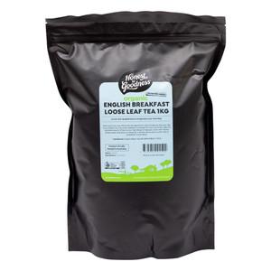 Organic English Breakfast Loose Leaf Tea 1KG