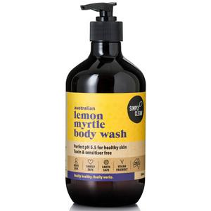 SimplyClean Lemon Myrtle Body Wash 500ml
