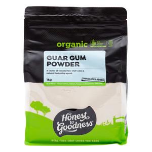 Organic Guar Gum Powder 1KG
