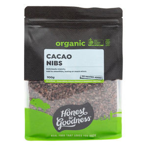 Organic Cacao Nibs 900g
