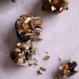 Pumpkin, Chestnut and Almond Brown Rice Balls