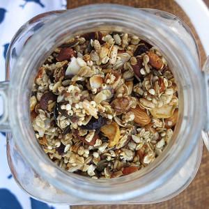 Homemade Nutty Muesli