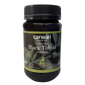 Organic Black Tahini 375g