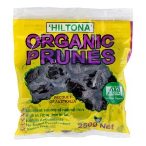 Hiltona Organic Prunes 250g
