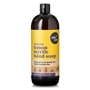 Lemon Myrtle Hand Soap 1L