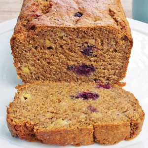 Banana, Blueberry and Chia Loaf