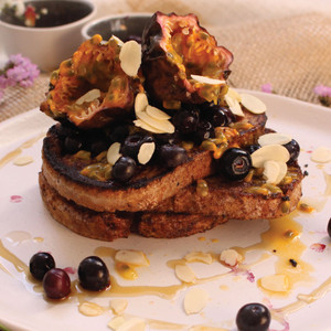 Maple and Vanilla French Toast