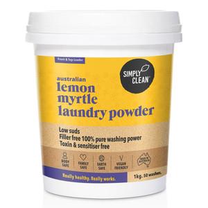 Lemon Myrtle Laundry Powder 1KG