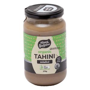 Organic Unhulled Tahini 375g