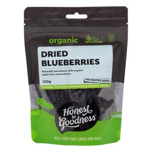 Organic Dried Blueberries 250g
