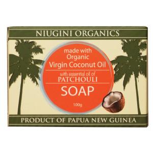 Organics Patchouli Coconut Soap 100g