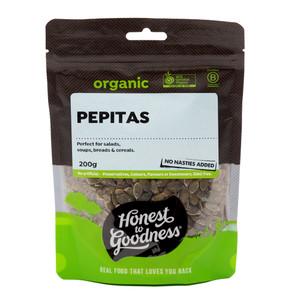 Organic Pepitas 200g