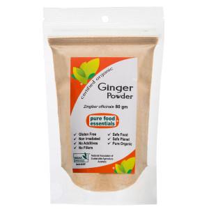 Organic Ginger Powder 80g