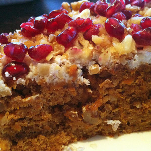 Carrot Cake with Ricotta Cheese Frosting