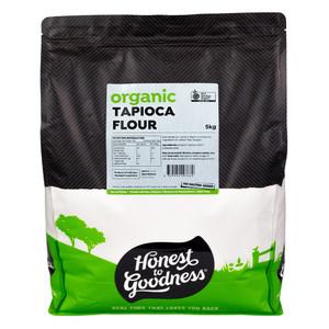 Honest to Goodness Organic Tapioca Flour Starch