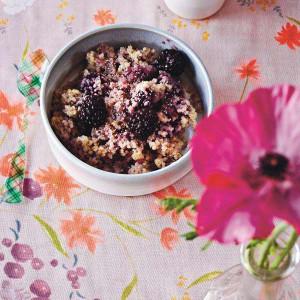 Quinoa and Blackberry Porridge
