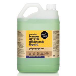 Lemon Myrtle Dishwash Liquid 5L