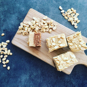 Peanut Butter & Caramel Bars