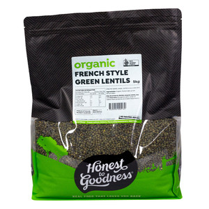Honest to Goodness Organic French Style Green Lentils