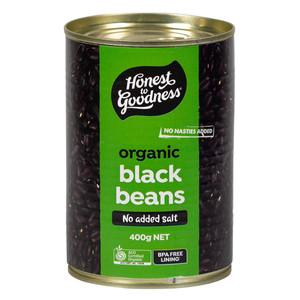 Honest to Goodness Organic Black Beans