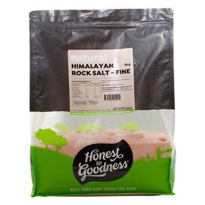 Honest to Goodness Himalayan Rock Salt Fine