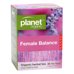 Organic Female Balance Tea Bags x 25