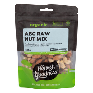 Organic ABC Raw Nut Mix 200g