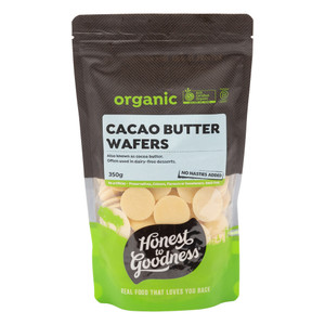 Organic Cacao Butter Wafers 350g
