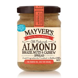 Almond, Brazil Nuts & Cashew Spread 240g