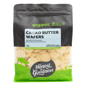 Organic Cacao Butter Wafers 1KG