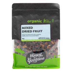 Organic Mixed Dried Fruit 1KG