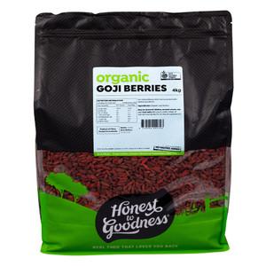 Honest to Goodness Organic Dried Goji Berries