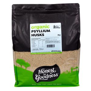 Honest to Goodness Organic Psyllium Husks