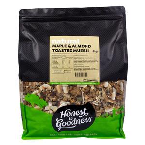 Maple & Almond Toasted Muesli 4KG