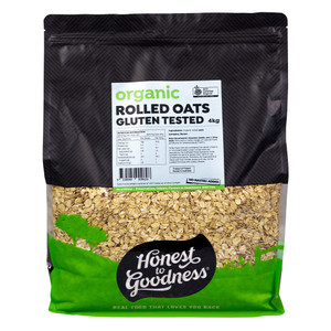 Honest to Goodness Organic Rolled Oats Uncontaminated Finland Bulk