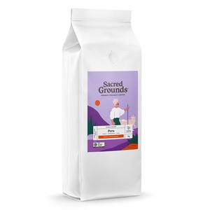 Sacred Grounds Organic Single Origin Peru Coffee Beans 1KG
