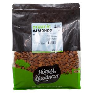 Honest to Goodness Organic Almonds